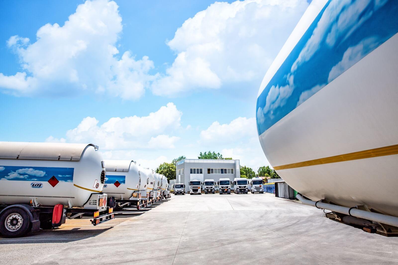 Trasporto cisterne GAS e Jet fuel - Levorato Marcevaggi