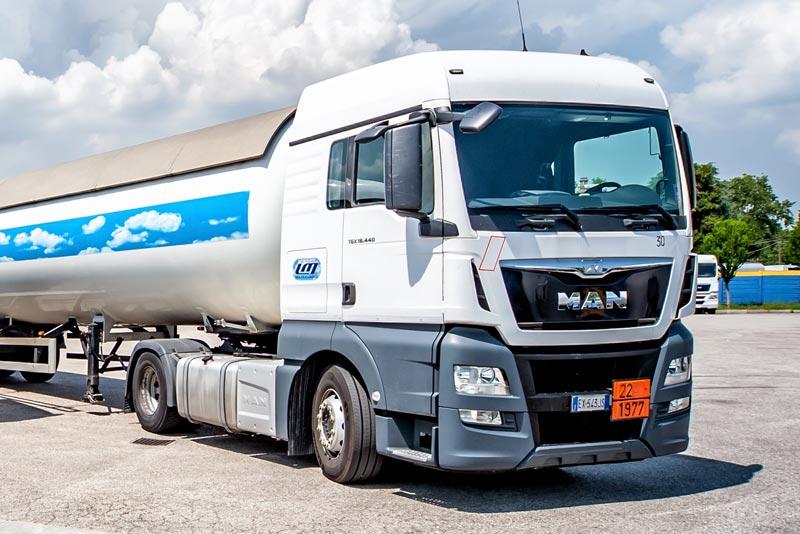 Trasporto professionale di Gas e merci pericolose - Levorato Marcevaggi