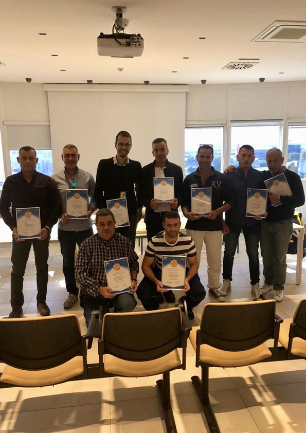 Premio JIG miglior gestione depositi di tutta Italia - Levorato Marcevaggi Bergamo