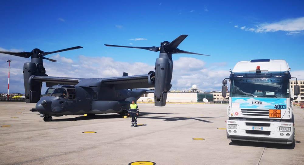 Levorato Marcevaggi rifornimento aereo militare